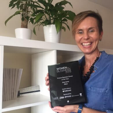 Lisa Lavis wins Woman Business Owner of the Year 2019