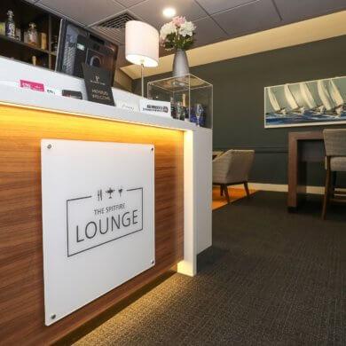 spitfire lounge branding