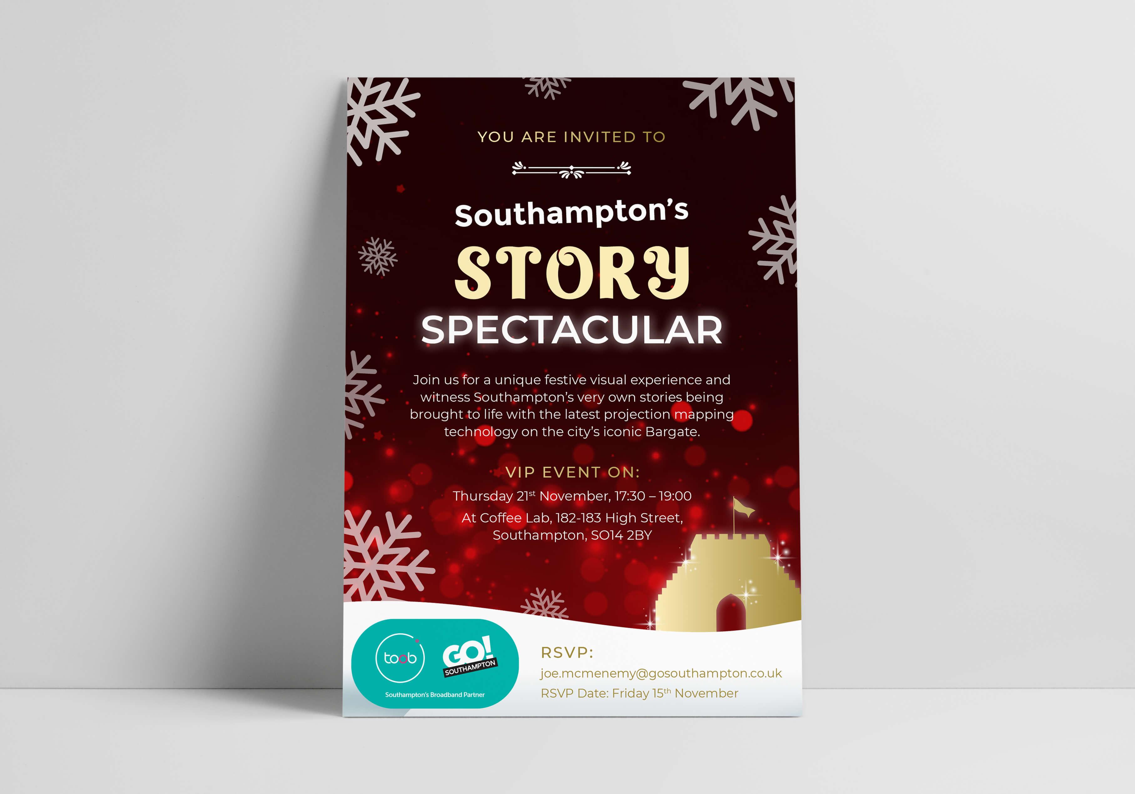 Go! Southampton Christmas Campaign Story Spectacular
