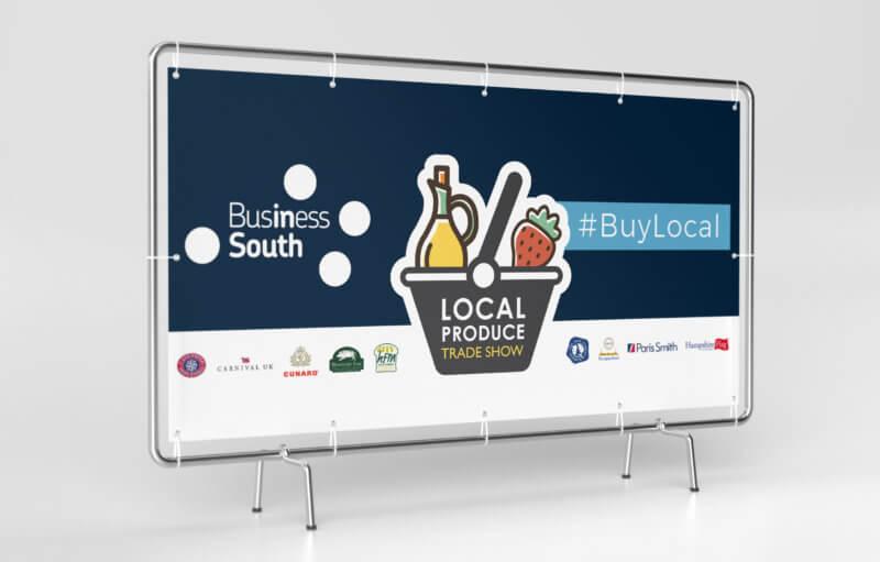Local Produce Trade show 2020 - Banner Design