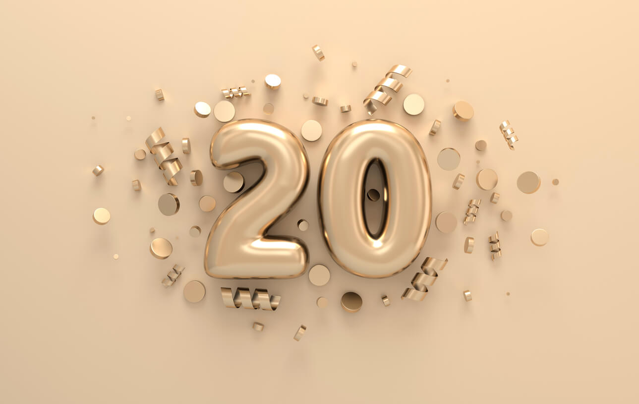 20 in 2020 - A year for celebrations