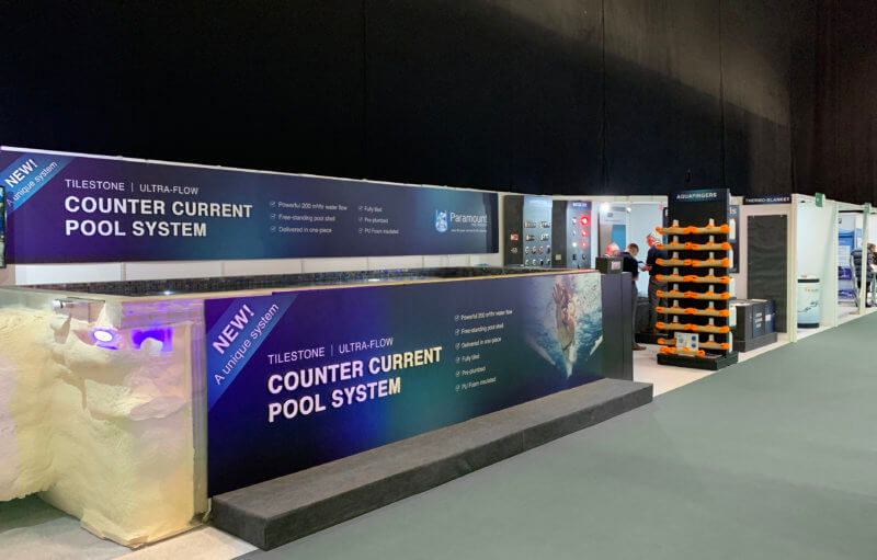 Paramount Pools Exhibition Graphics Spatex