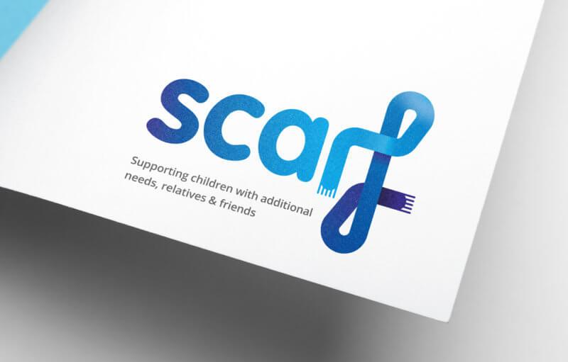 Scarf Charity Rebrand Logo