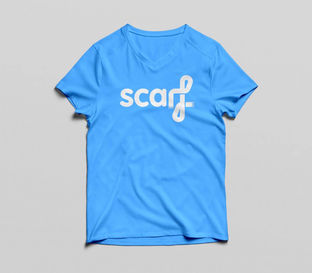 Scarf Charity Logo Rebrand T-shirt