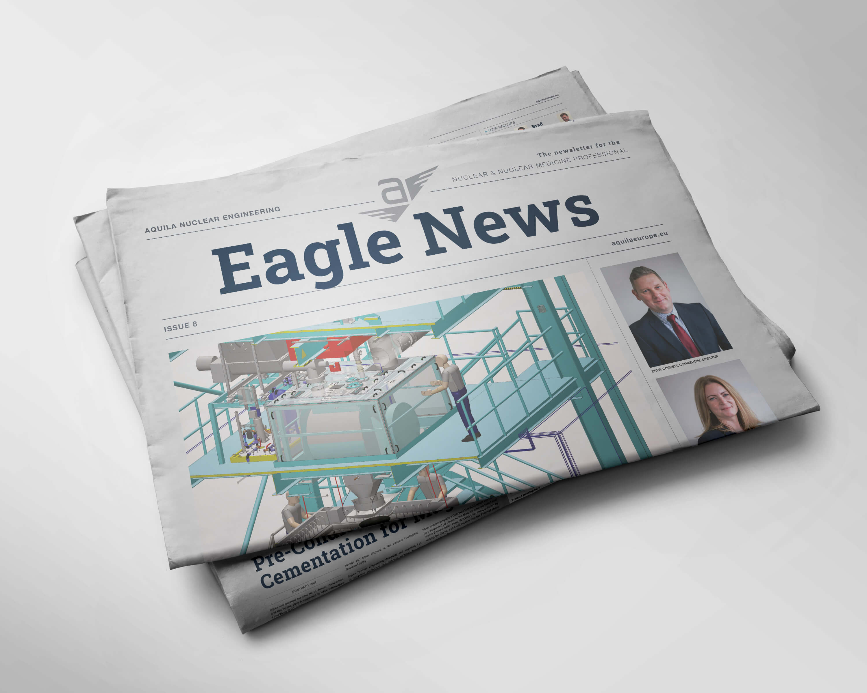 Aquila Nuclear Engineering Newspaper Newsletter