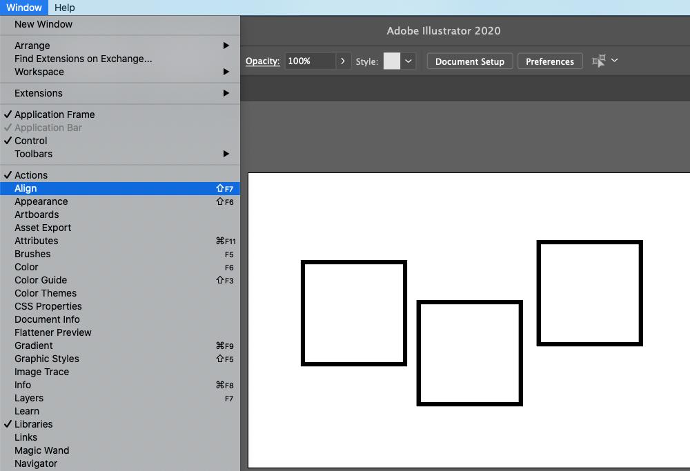 Illustrator Alignment 1