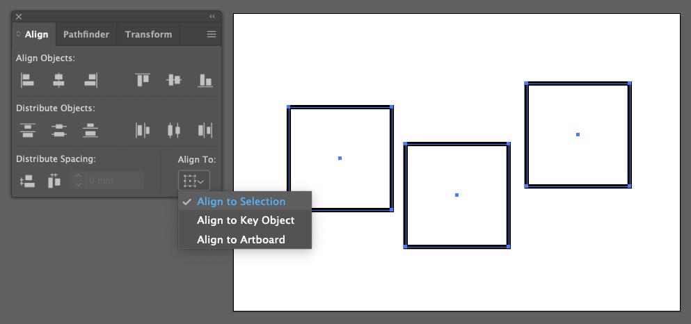 Illustrator Alignment 2