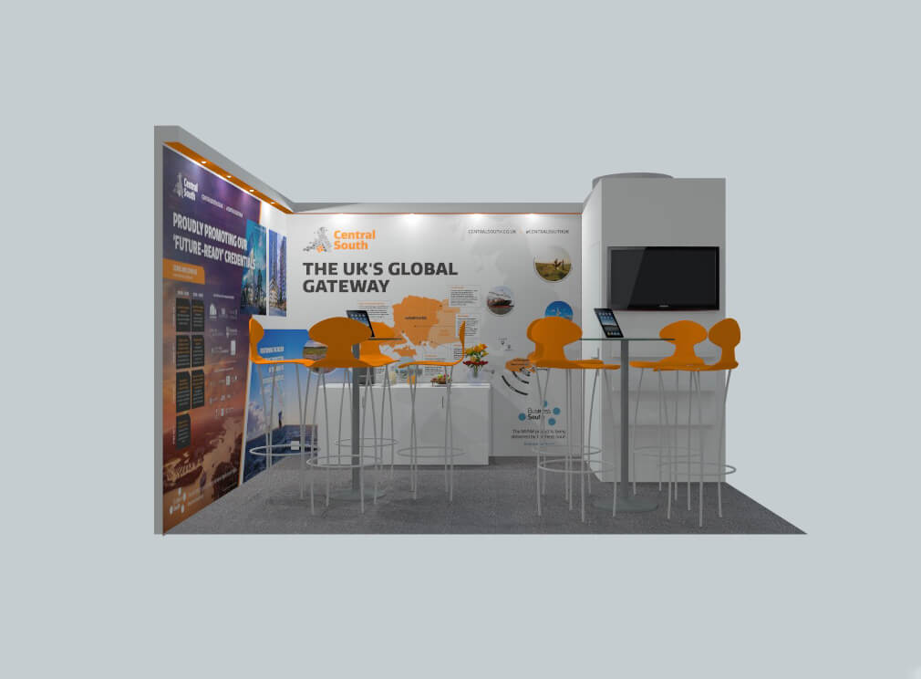 Business South MIPIM Stand 2021
