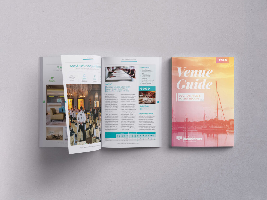 Destination Southampton | Venue Guide | Catalogue | Brochure | Events