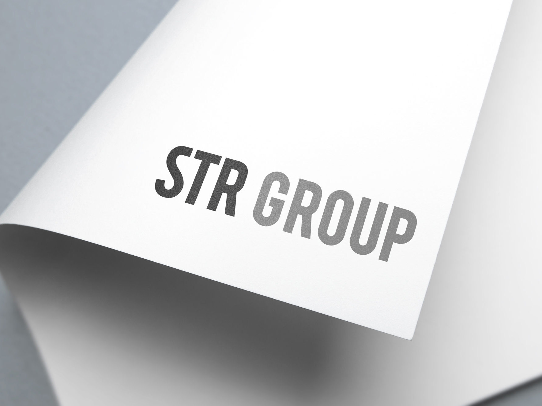 STR Group | Recruitment | Logo Design | Branding
