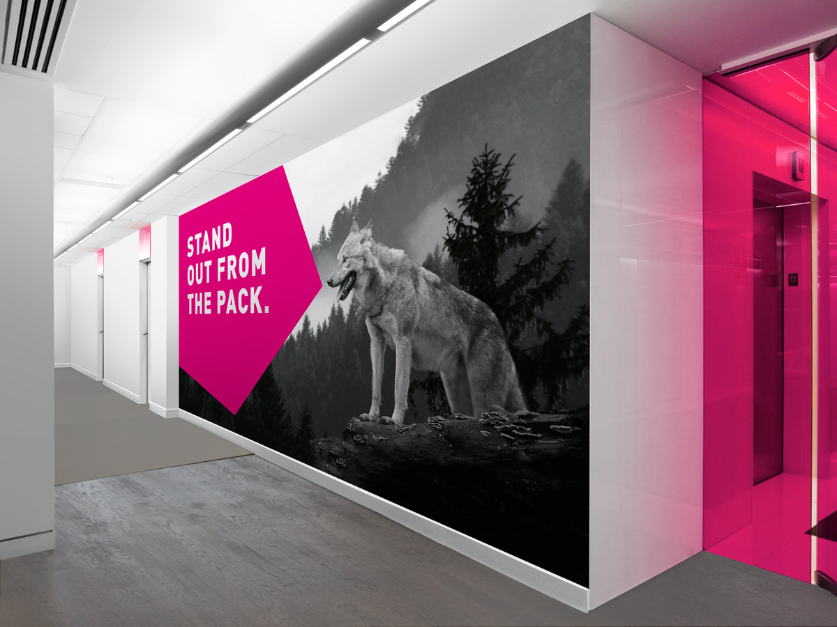STR Group | Recruitment | Large Format | Office Styling | Wall Graphics | STR Group Brands