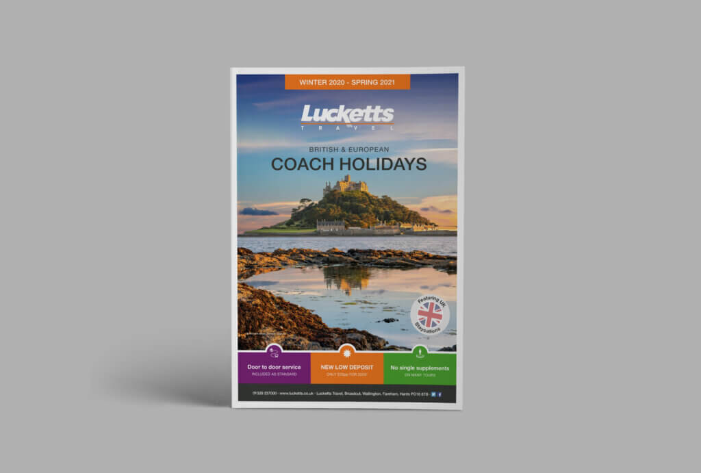 Lucketts Travel | Brochure Design | Magazine | Catalogue - Good to Go