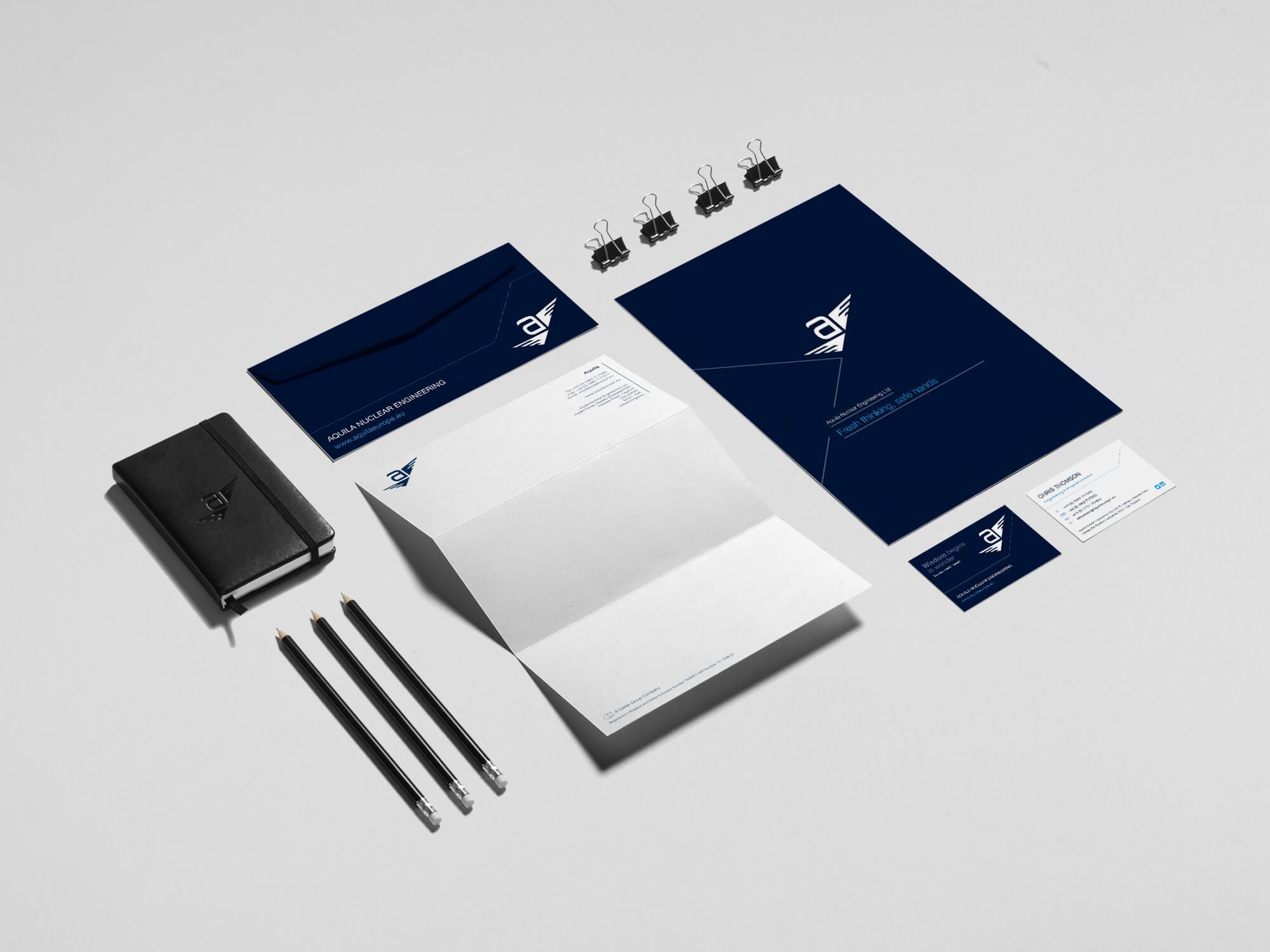 Aquila Brand | Stationery