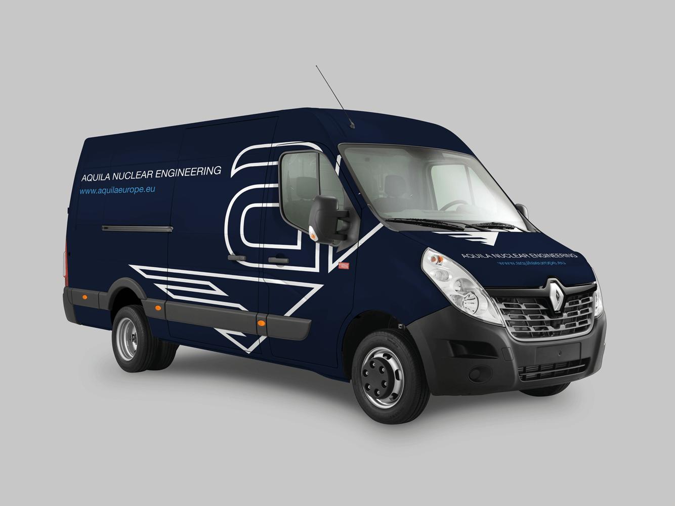 Aquila Nuclear Engineering | Livery | Car Wrap | Van | Branding