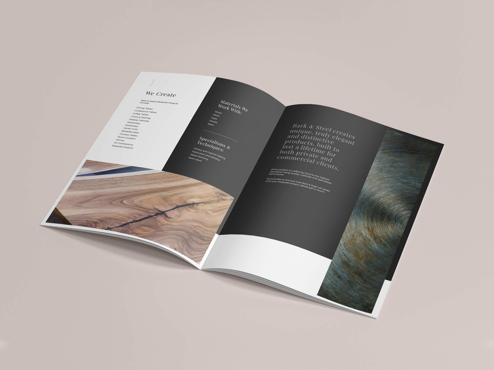 Bark & Steel Brochure