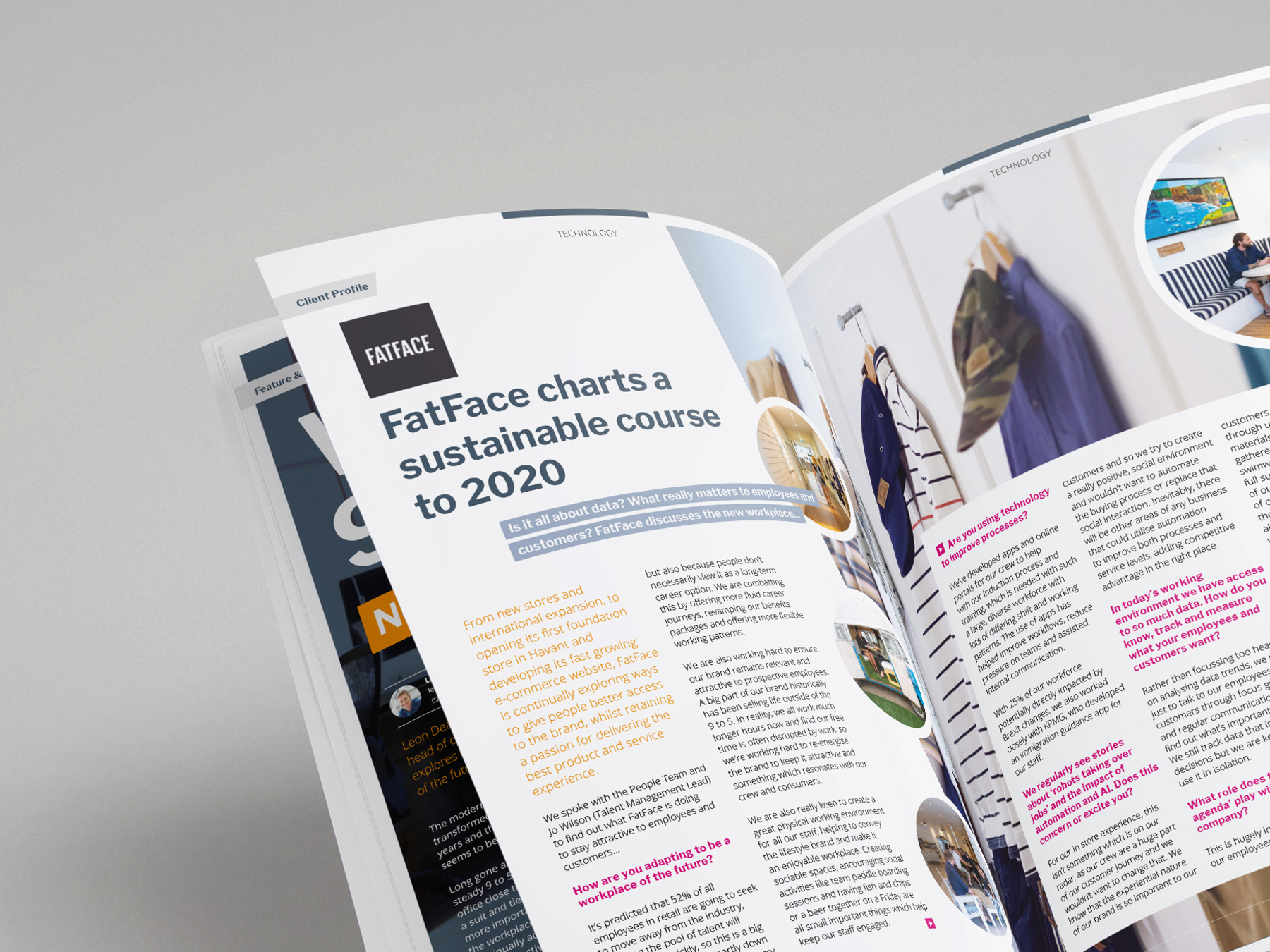 Coffin Mew | Magazine Design | Connect | Editorial | publication | brochure