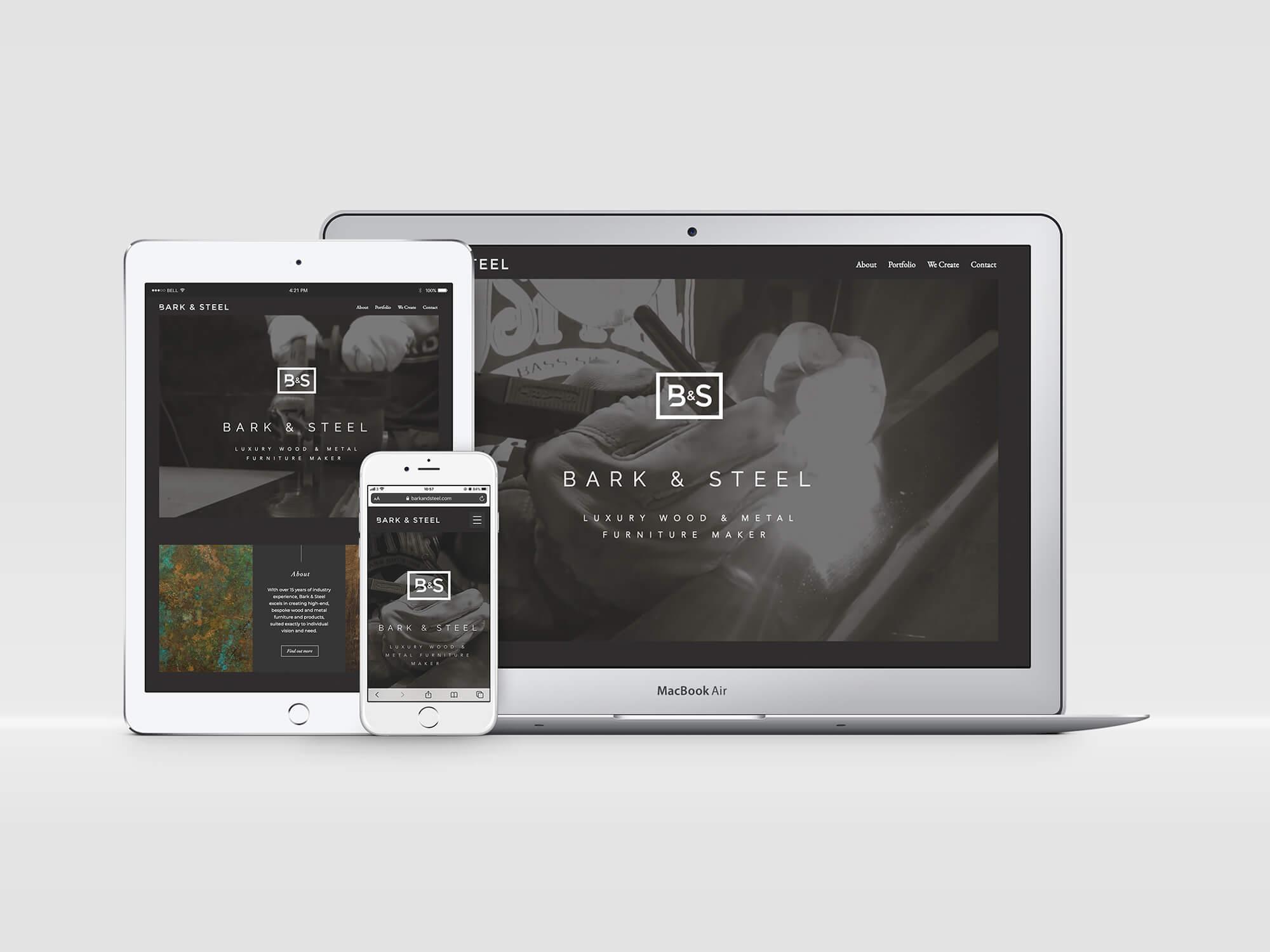 B & S Website