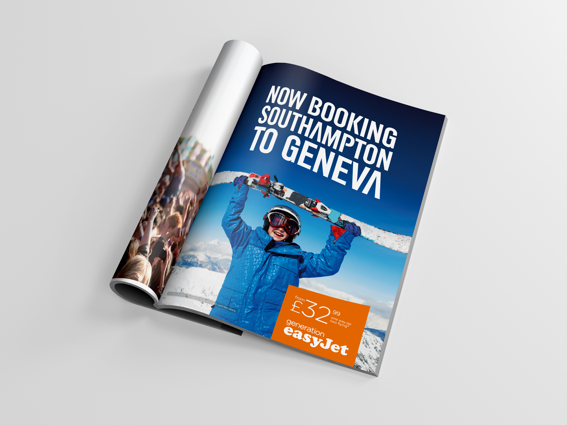 easyJet Advert | Advertising | Digital Banners | Print Ad