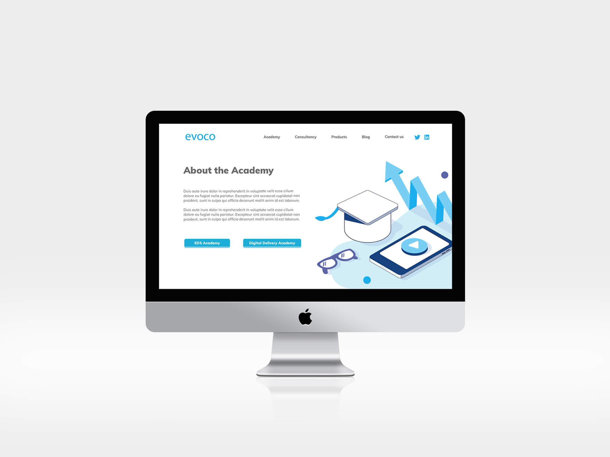 Evoco | Website Design | Responsive | Digital Design