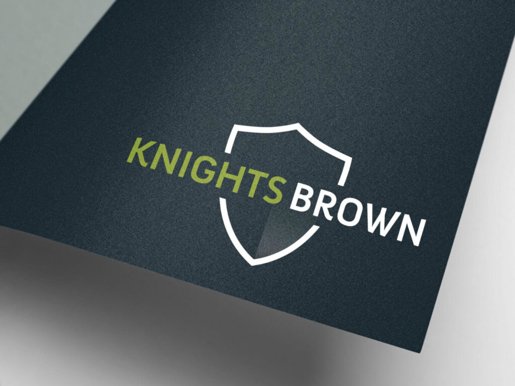 Knights Brown | Logo Design | Branding | Brand Design