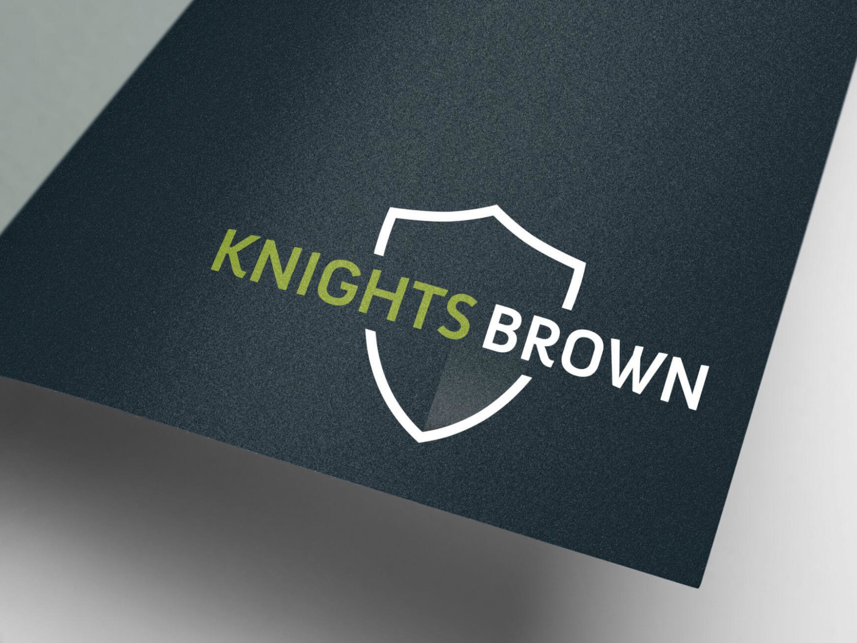 Knights Brown | Logo Design | Branding | Brand Design