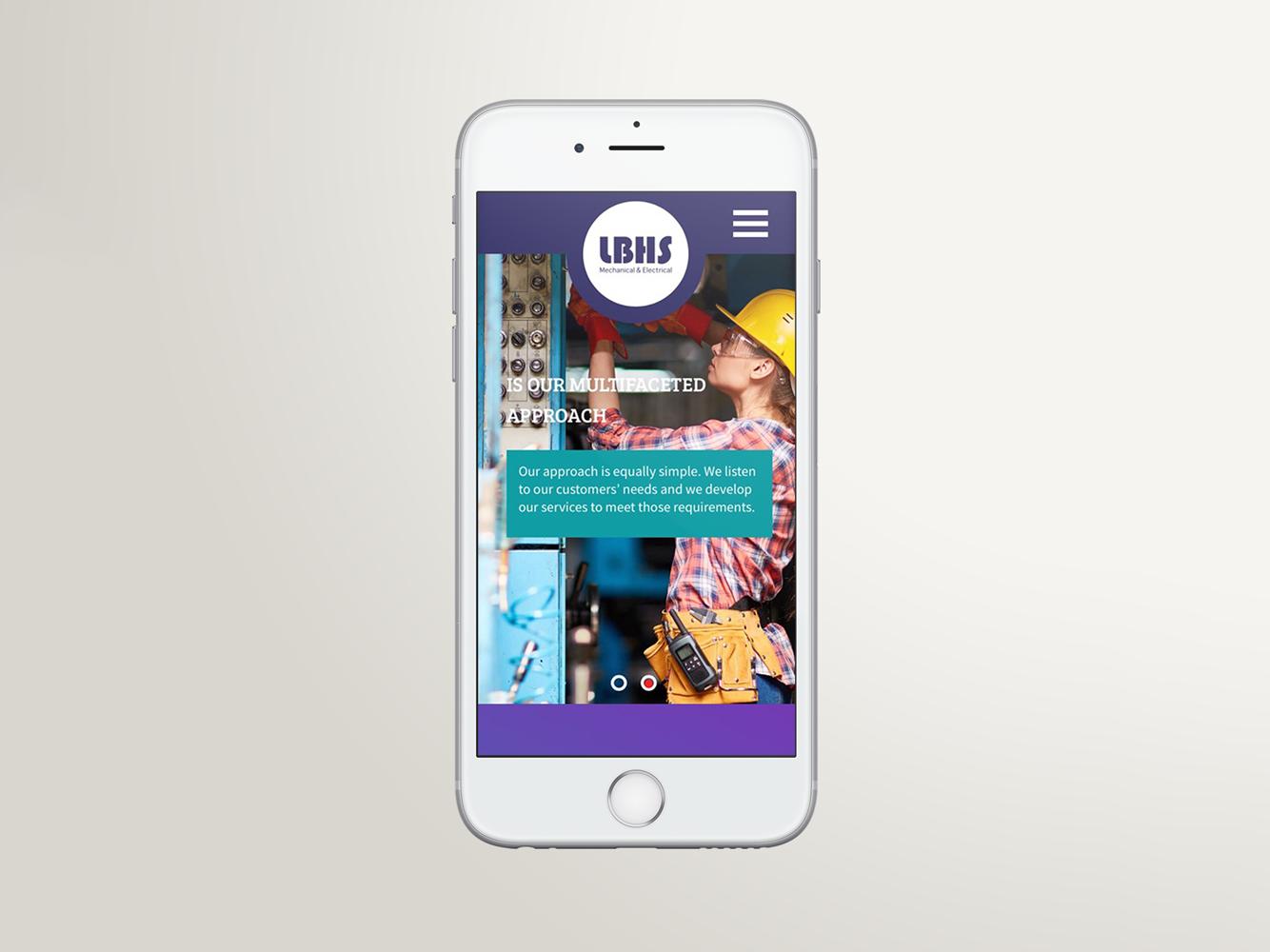 Limburn | Heating & Plumbing | Website Design | Responsive