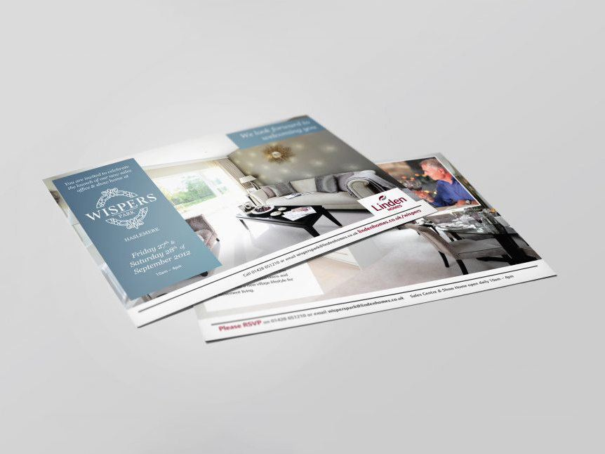 Linden Homes | Branding | Logo Design | Wispers Park | Retirement
