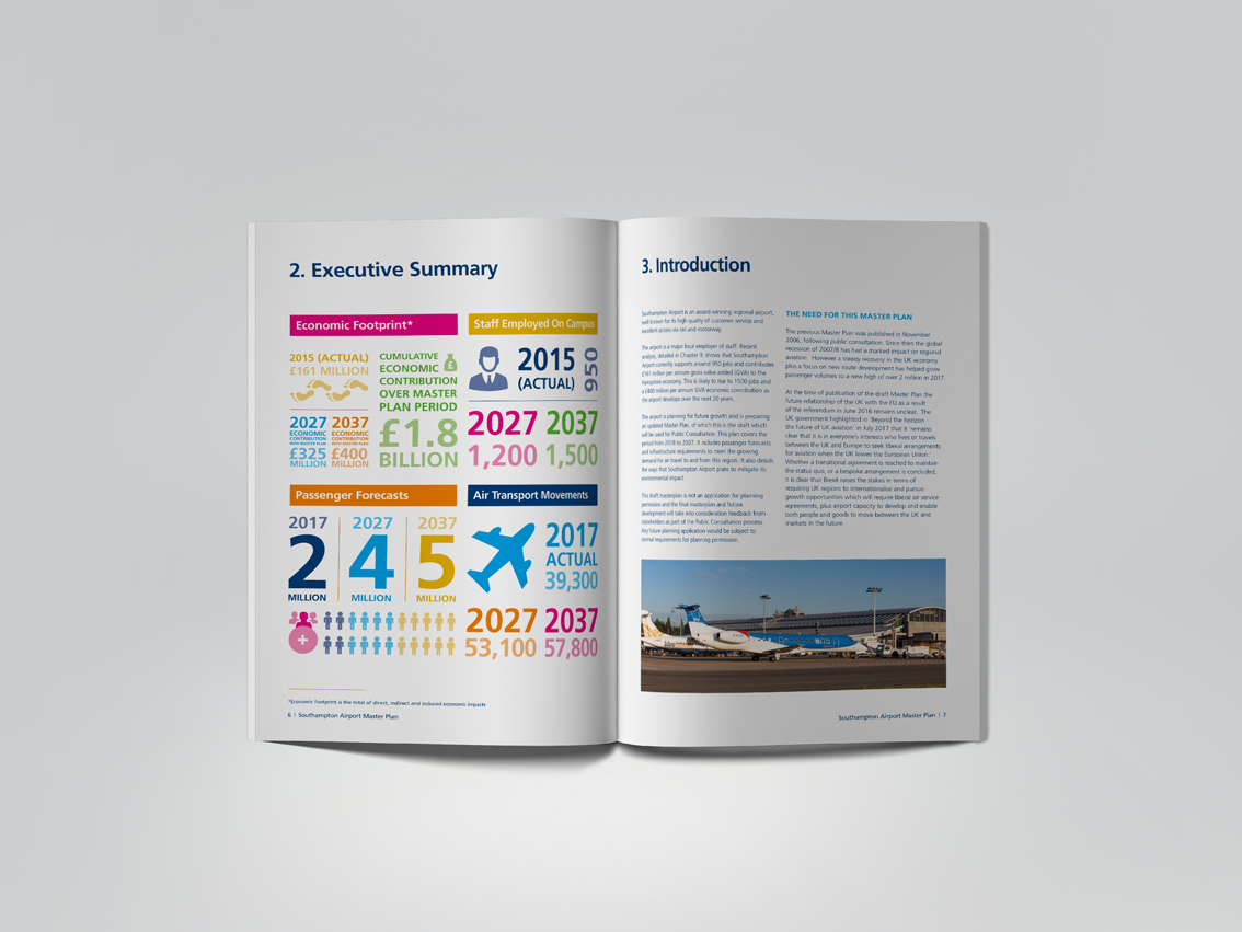 Southampton Airport | Master Plan | Book Design | Technical Information | Report