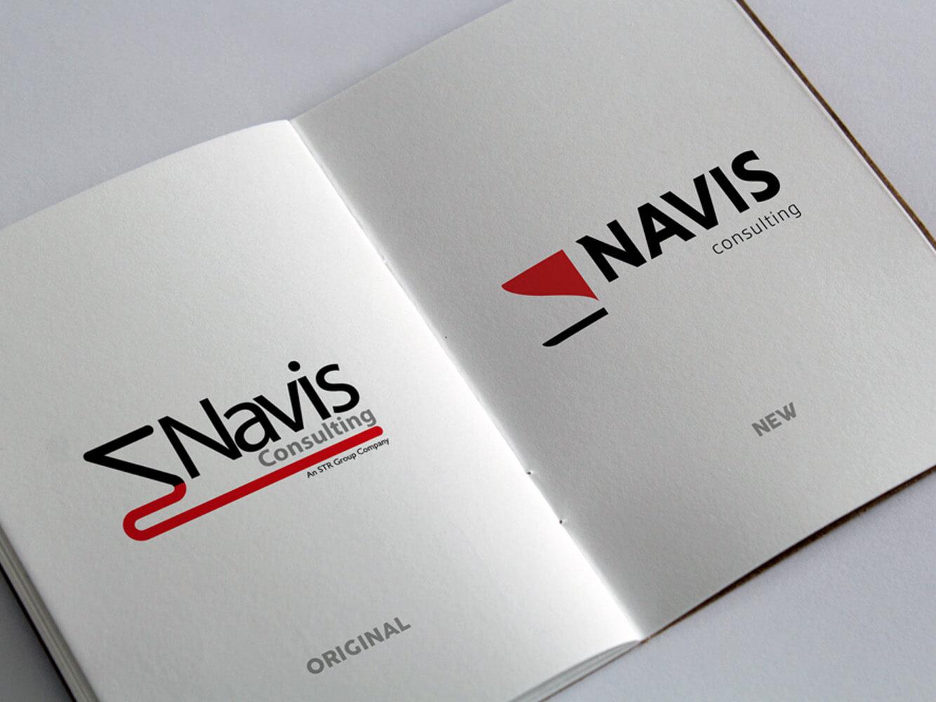 Navis Consulting | Recruitment | Branding | Brand | Logo Design | Marine