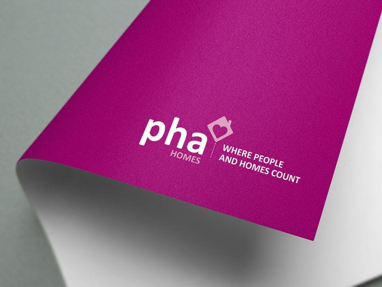 PHA Homes Branding Logo Design