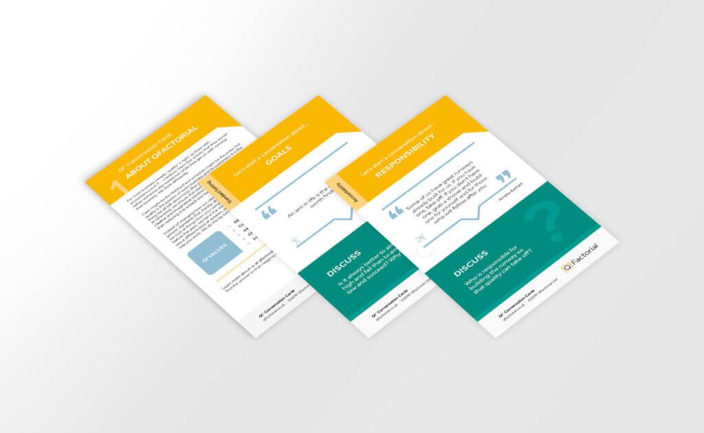 QFactorial Conversation Cards