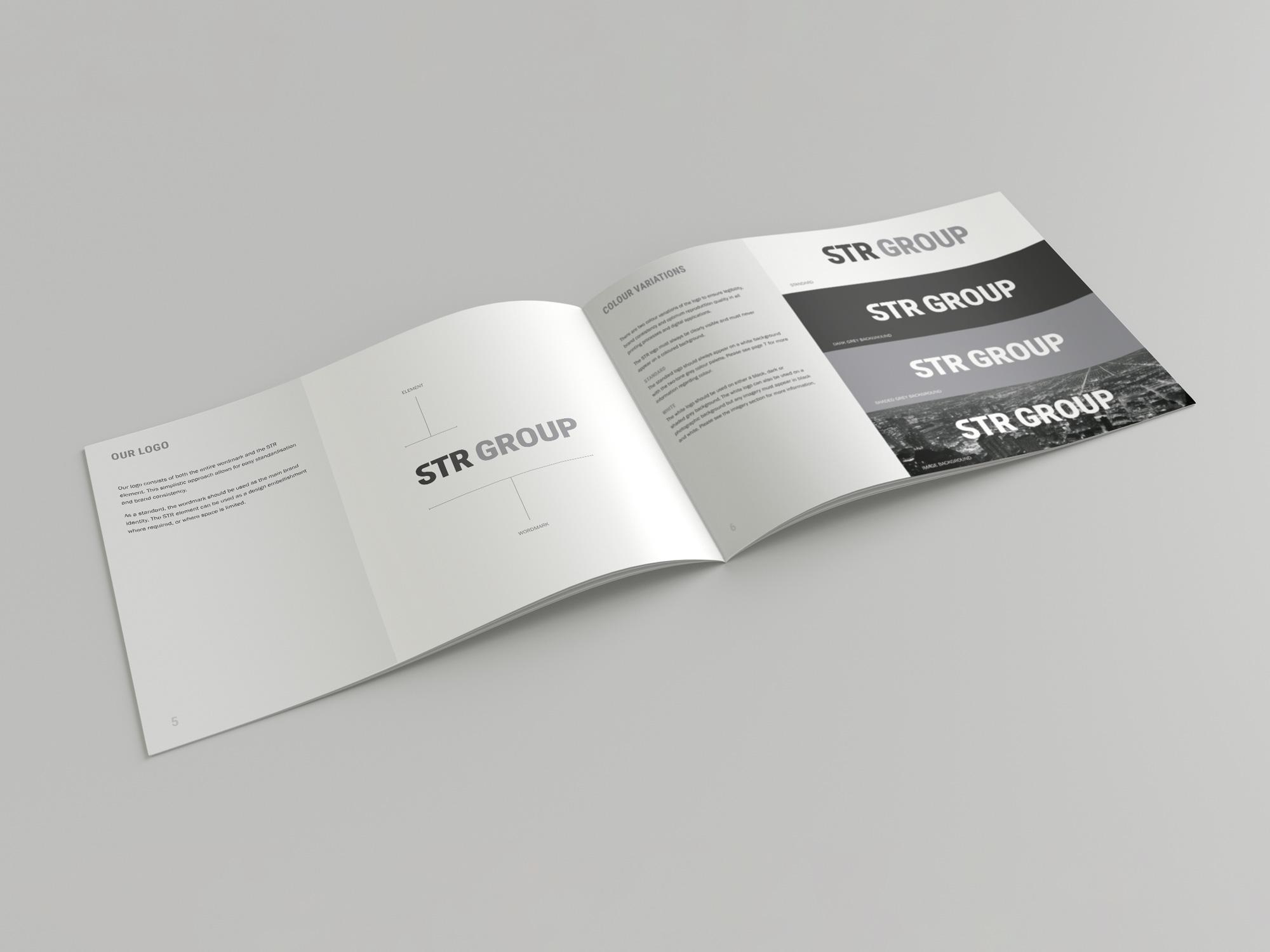 STR Group | Recruitment | Branding | Brand Guideslines | Logo Design