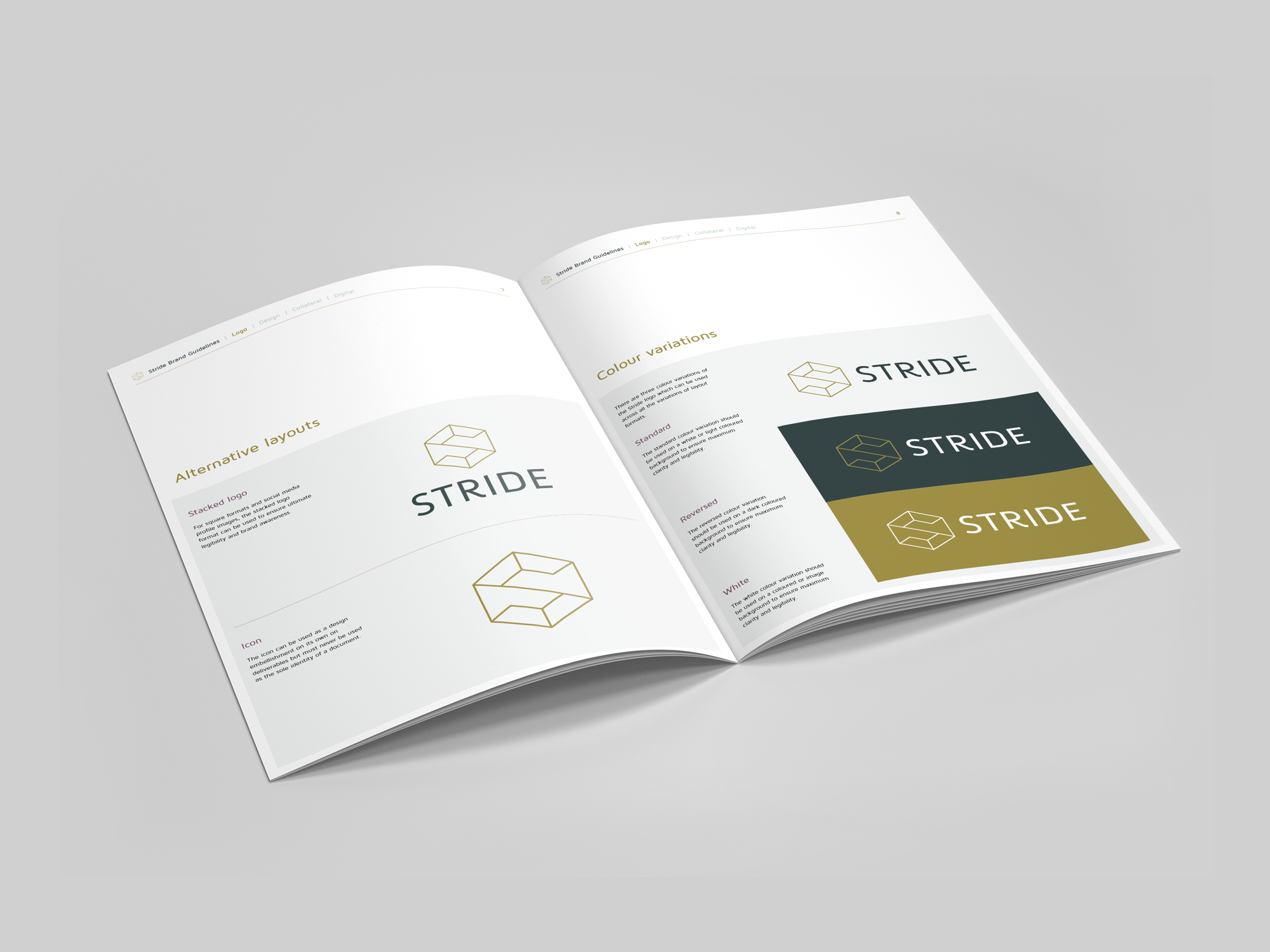 Stride | Branding Design | Logo Design | Brand | Recruitment |