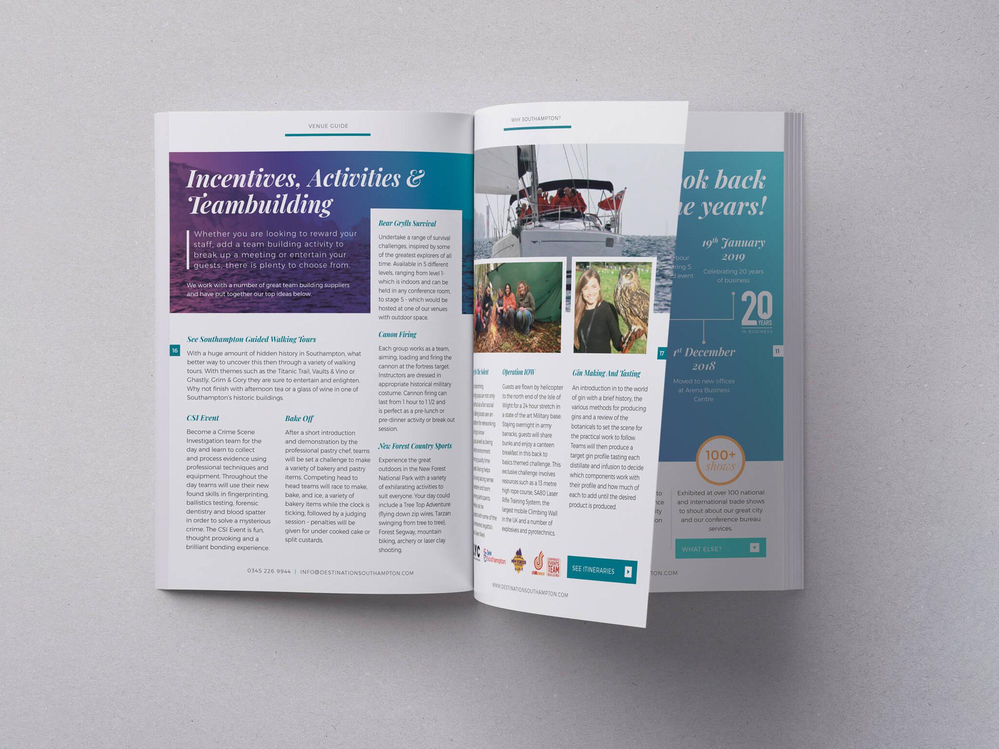 Destination Southampton | Venue Guide | Catalogue | Brochure | Events