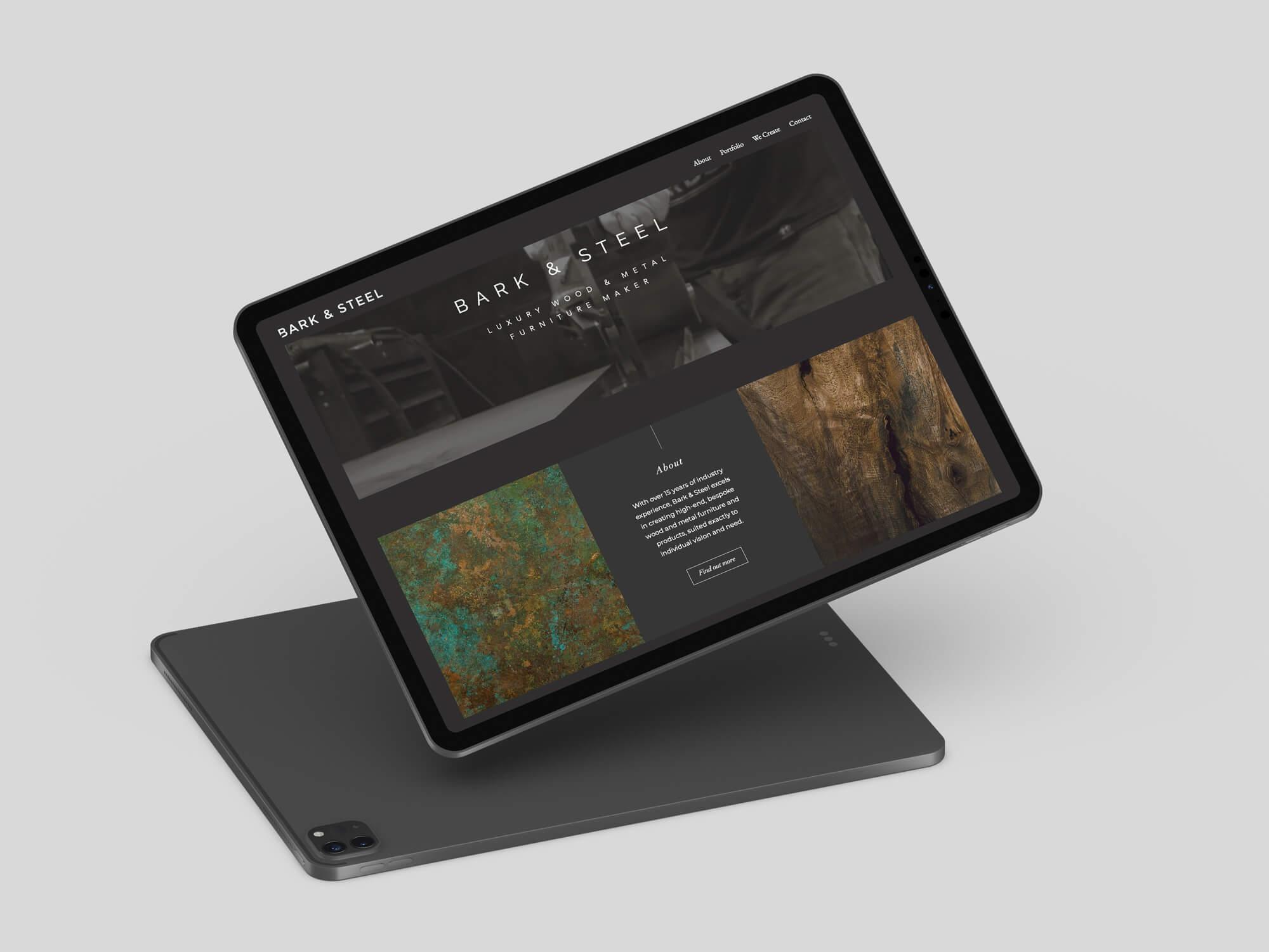 Bark & Steel Website