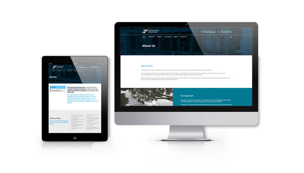 Aquila Nuclear Engineering launches its new website