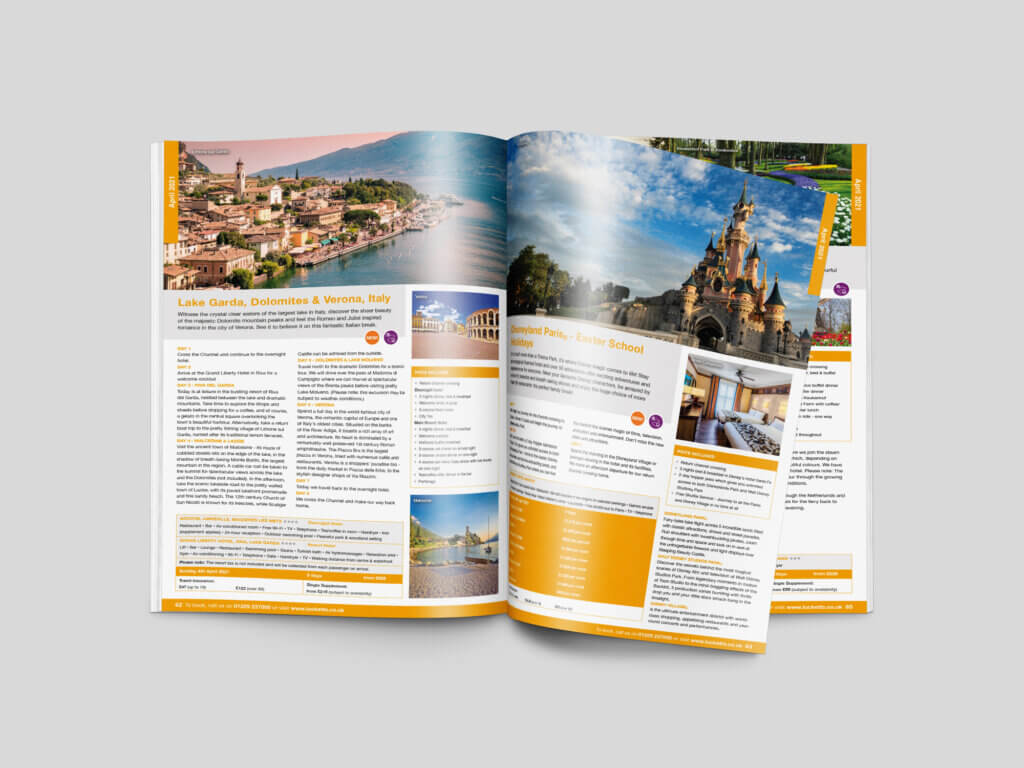 Lucketts Travel | Brochure Design | Magazine | Catalogue