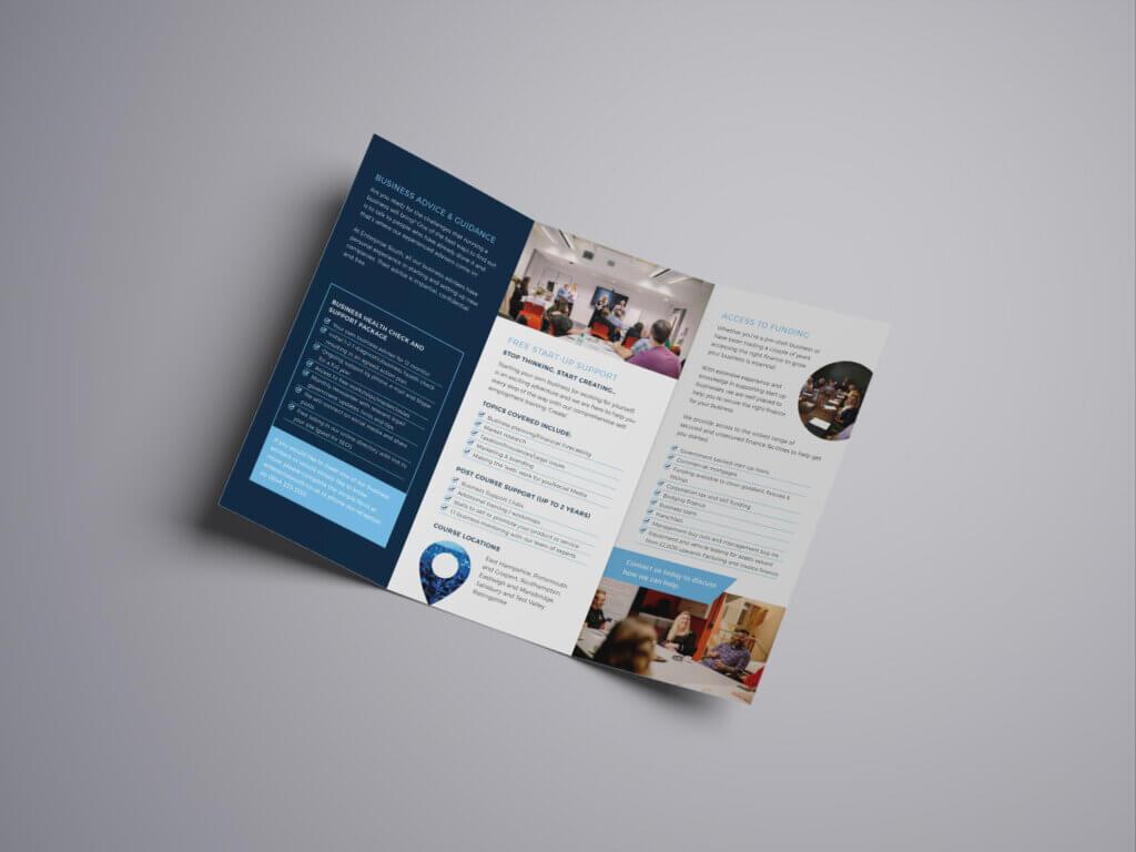 Enterprise South Leaflet Open