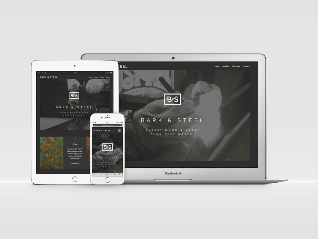 Bark & Steek Website