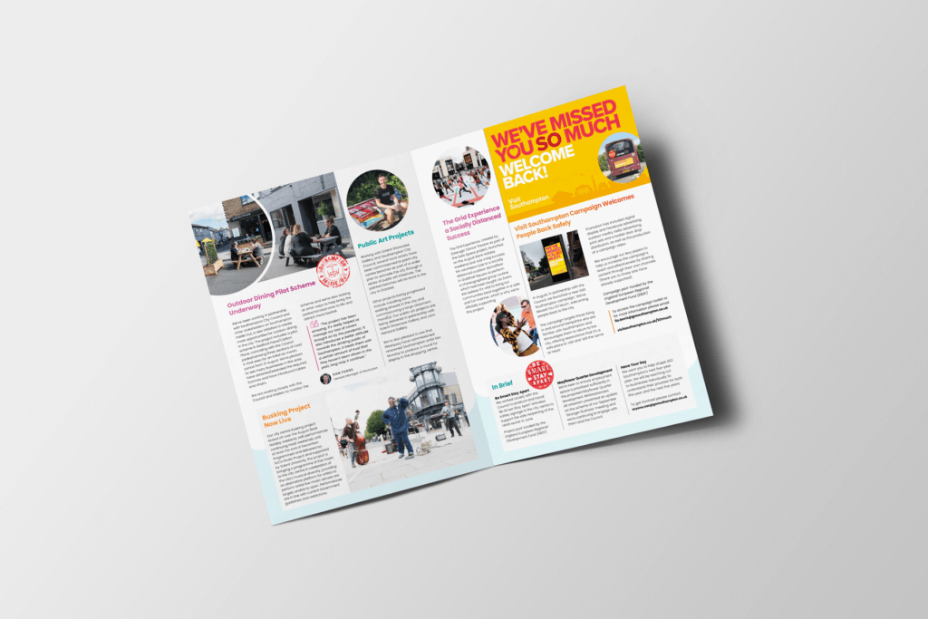 Vibrant and Engaging Autumn Newsletter for Go! Southampton