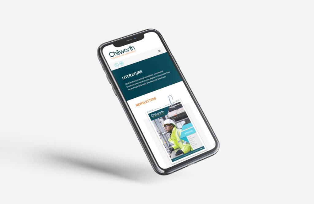 Chilworth Construction Management Website
