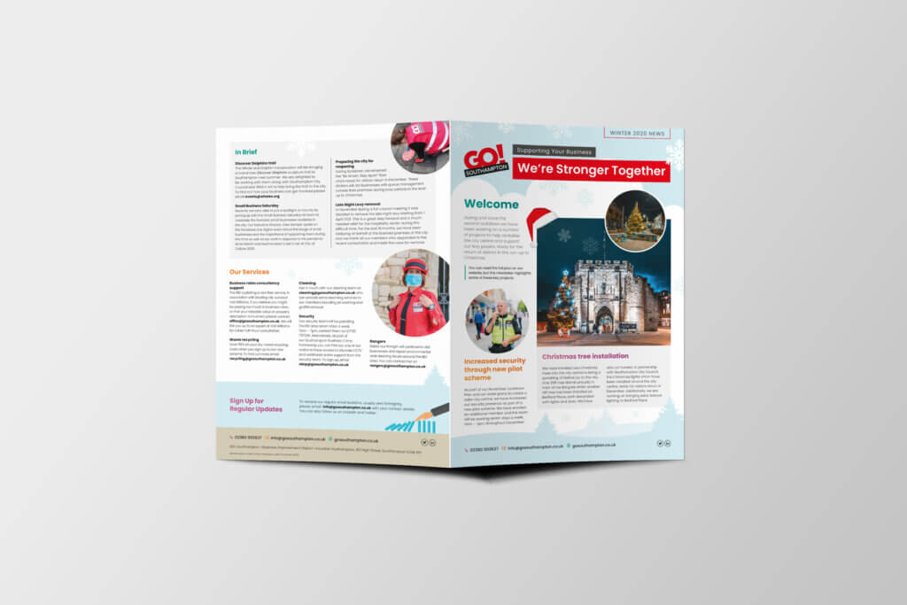 Winter Christmas Newsletter Go! Southampton