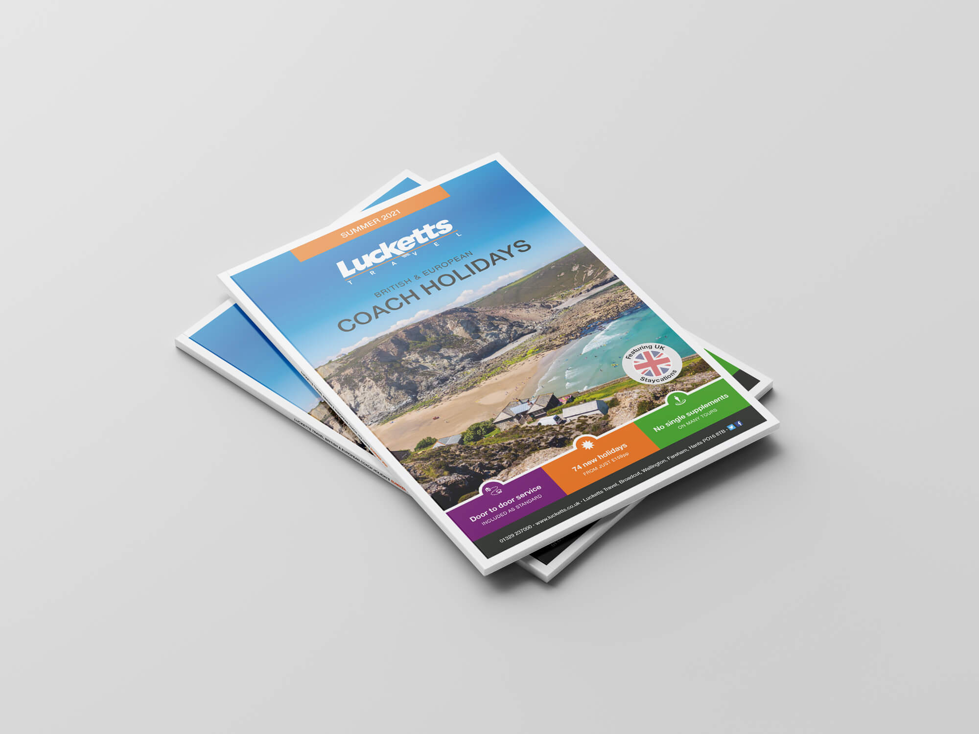 Lucketts Travel Summer Holiday Brochure