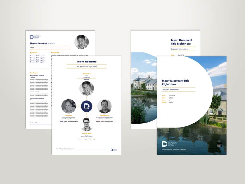 Deacon Design InDesign Templates