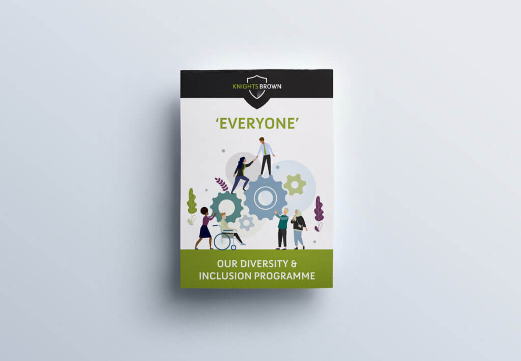 Knights Brown Diversity and Inclusion Programme Cover