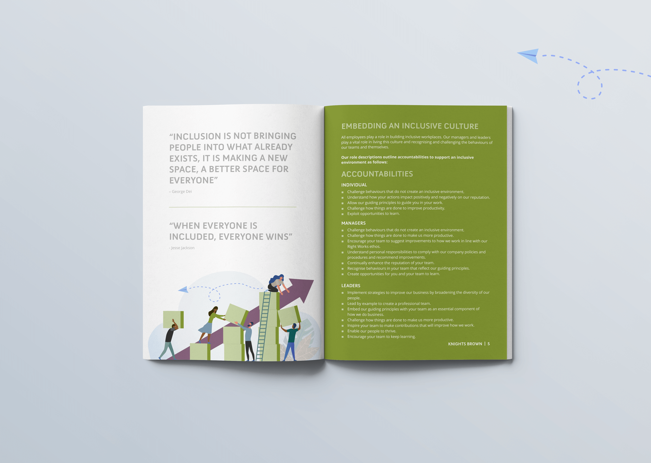Knights Brown Diversity andInclusion Programme Inner Pages