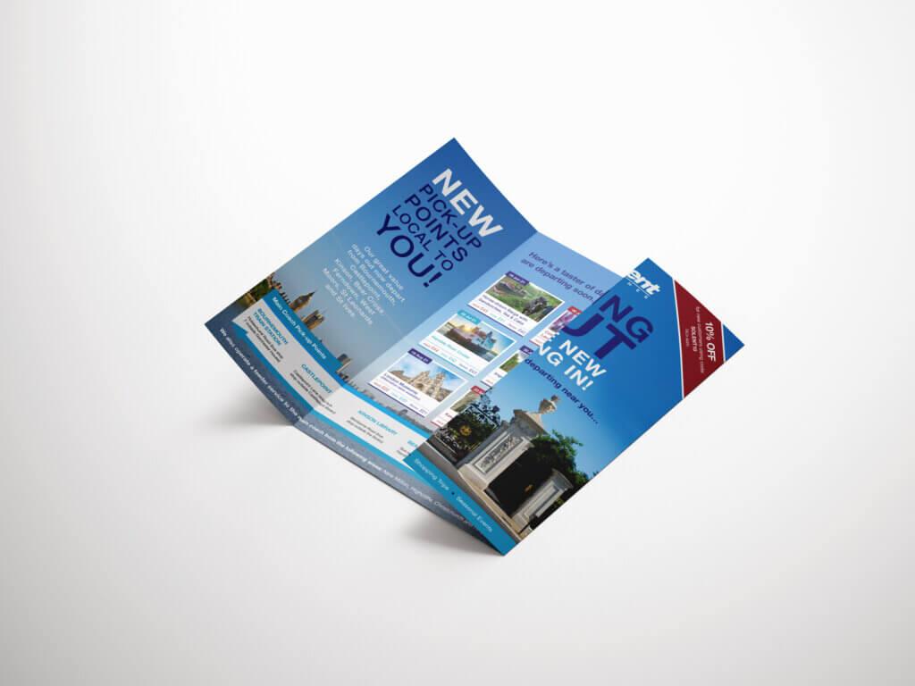 Solent Coaches Gate Fold Leaflet
