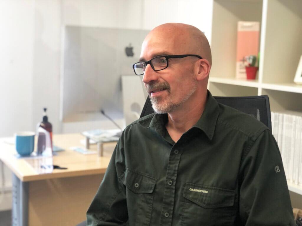 Mark Burnell - Senior Designer - The Glow Studio
