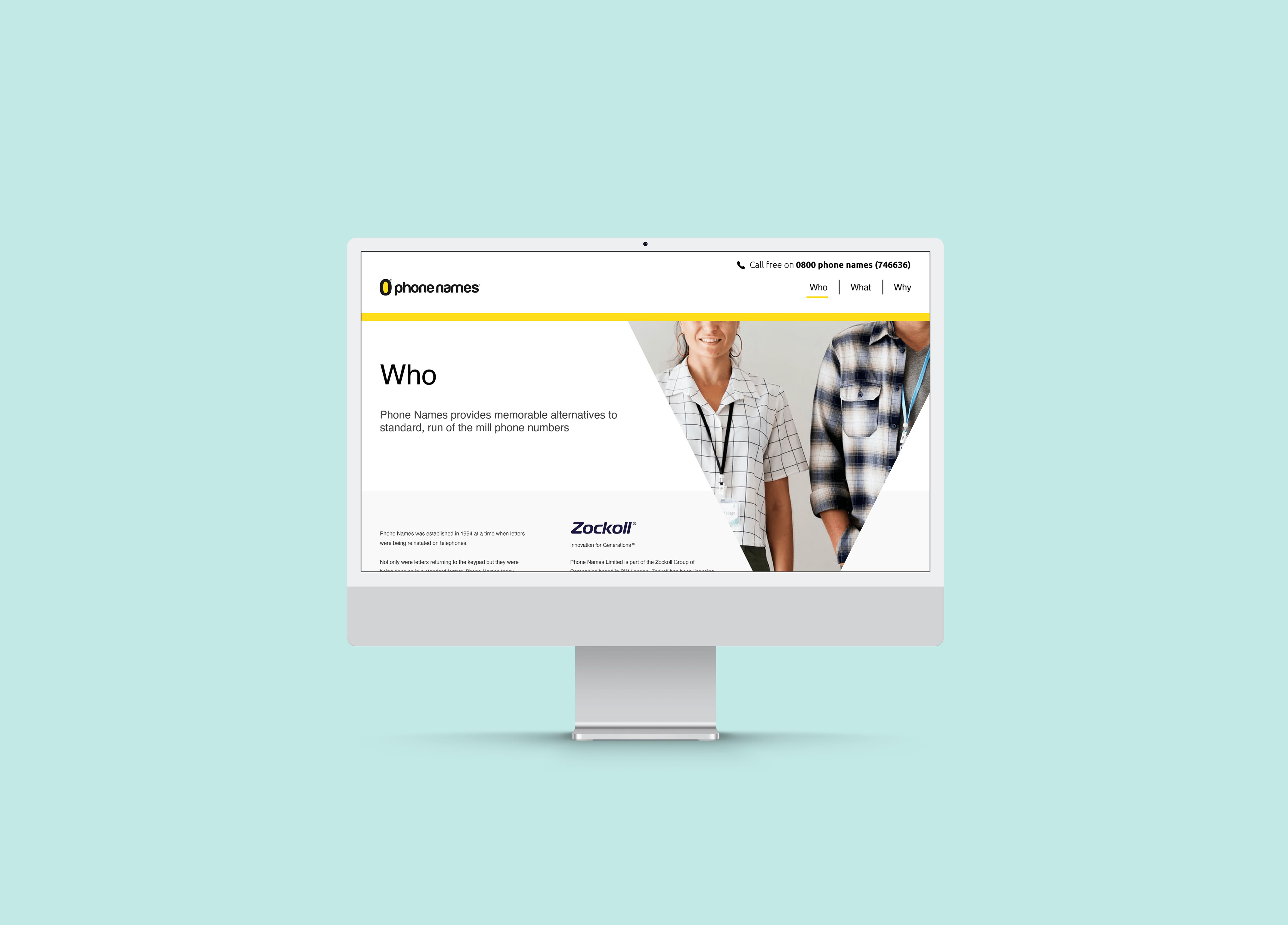Phone Names Website