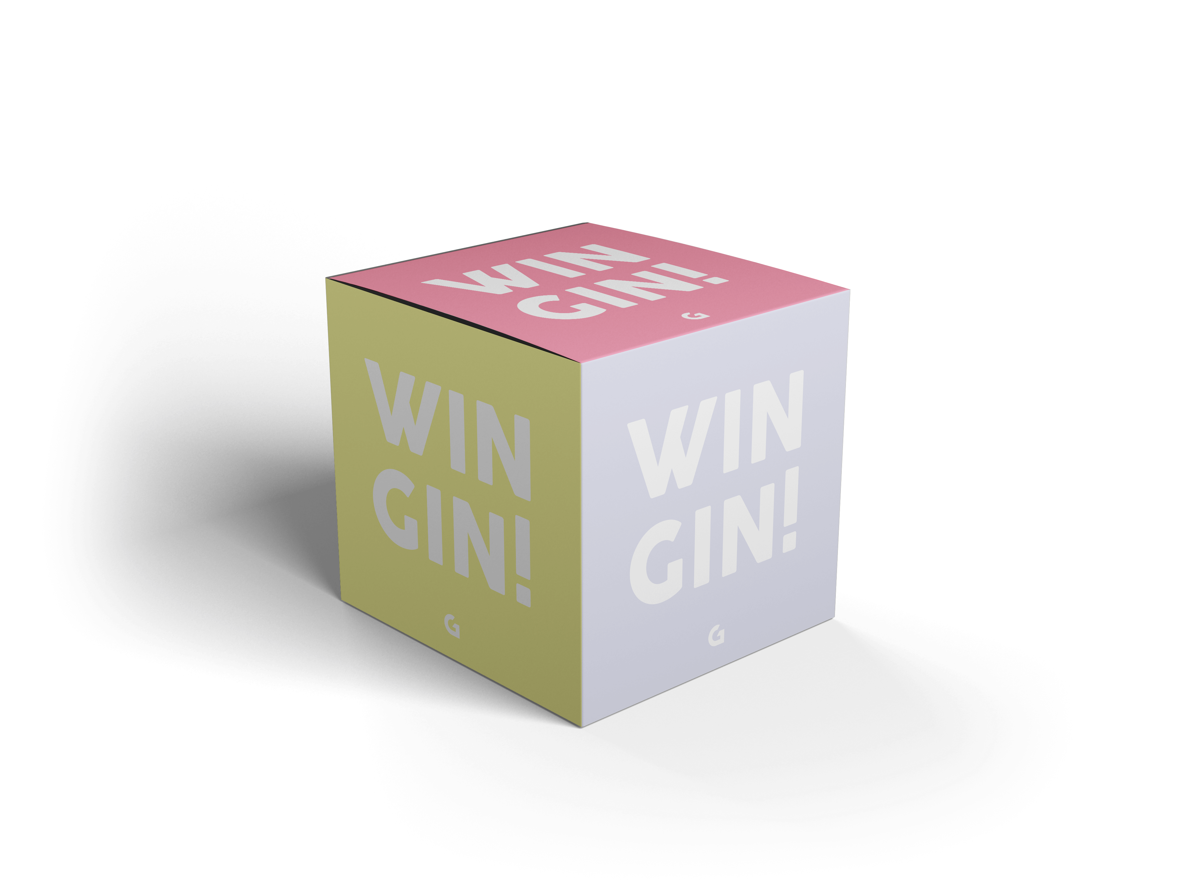Glow Promotional Cube